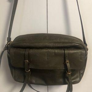 Banana Republic leather purse